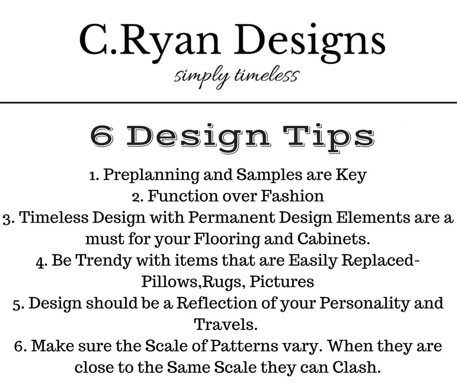 5 design tips